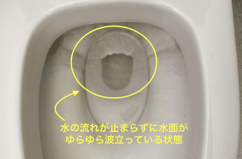 トイレの水がちょろちょろ出て止まらない原因はこれ